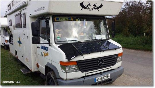 solar auf dem wohnmobil selbst montieren. Black Bedroom Furniture Sets. Home Design Ideas