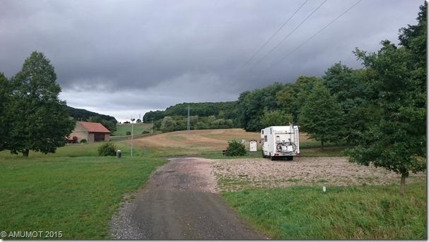 In Schiersfeld (RP) finde ich einen schönen ruhigen Stellplatz.