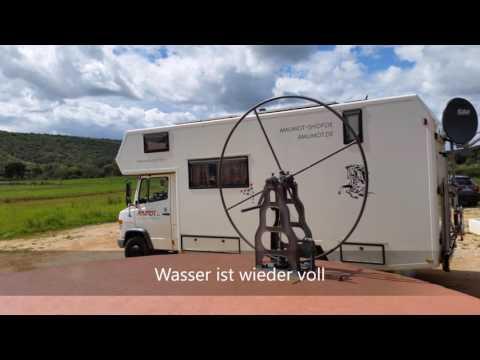 Wohnmobil mit Brunnenwasser betanken | Unterwegs in Portugal #Wasserfilter #Wohnmobil