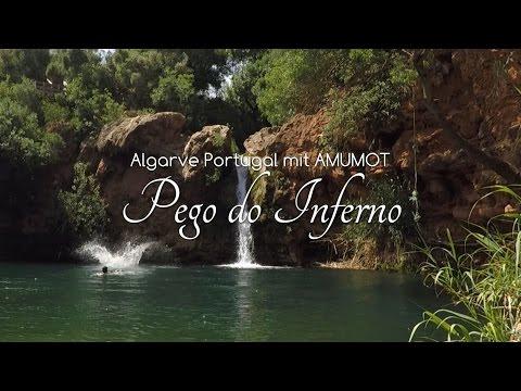 Pego do Inferno Tavira 2017 HD - Geheimnisse der Algarve - See mit Wasserfall