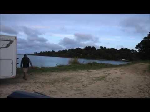 Die Flut kommt in der Bretagne (Zeitraffer)