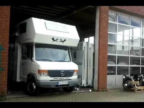 Neues Wohnmobil Mercedes Vario