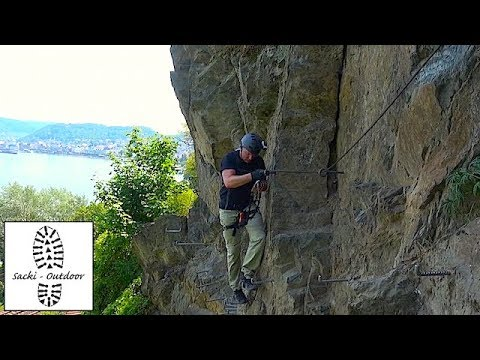 Tour: Auf dem Mittelrhein-Klettersteig