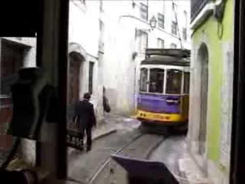 Tramfahren in Lissabon