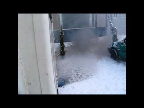 Ivceo Zeta Kaltstart im Winter