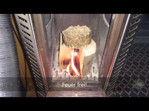 Mini Holzofen im Wohnmobil