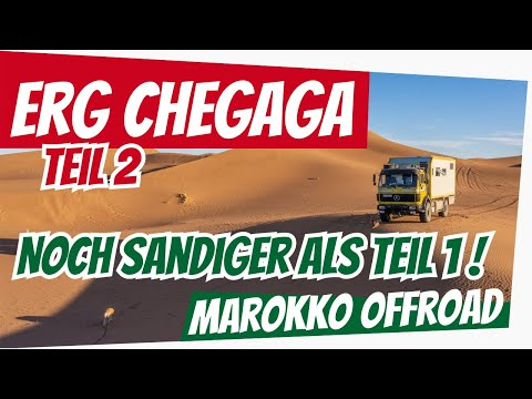 Erg Chegaga Teil 2: Team Düdo + Team Eiwola offroad in der Sahara | Sandpiste & Weichsand in Marokko