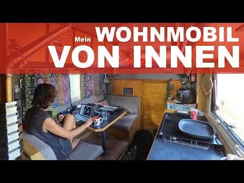 ROOMTOUR | Wohnmobil Marke Eigenbau Rundgang - AMUMOT-Truck von innen und außen