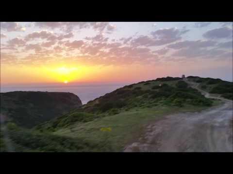 Portugal - Westkueste bei Sonnenuntergang