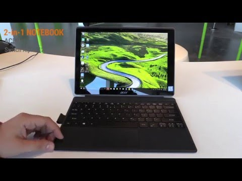 Acer Switch Alpha 12 Hands On Test - Deutsch / German ►► notebooksbilliger.de