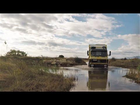 Strandfahren am Ebro Delta