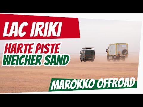 Lac Iriki | extremer Weichsand & die Autobahn - Piste | Roadtrip Marokko 2020