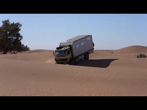 Dünen fahren ohne Sperre