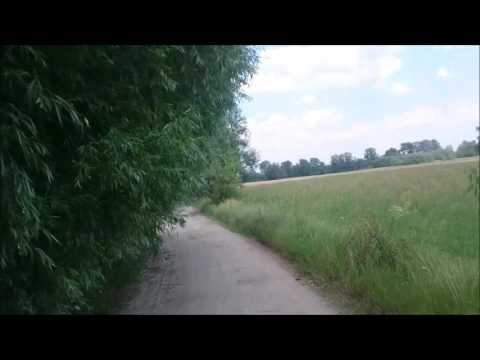 Schmale Wege in Polen Wohnmobil