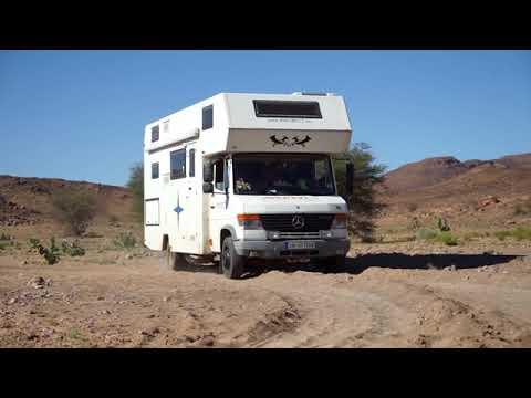 Marokko | Erster Versuch Mercedes Vario 2WD im Sand