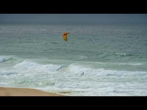 Wellen an der Westküste Portugals