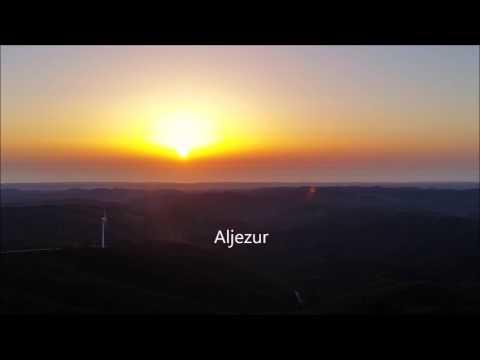 Sonnenuntergang auf dem höchsten Berg der Algarve
