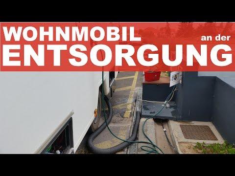 Entsorgen Wohnmobil Dumpen - Verhalten an der VE Station