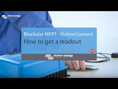 How to get a readout from an MPPT with a VE.Direct Bluetooth Smart dongle | Victron Energy