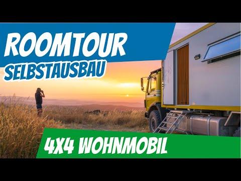 Roomtour EIWOLA | MB 1225 | Allrad Wohnmobil Selbstausbau