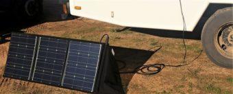mobile Solaranlage 100Wp