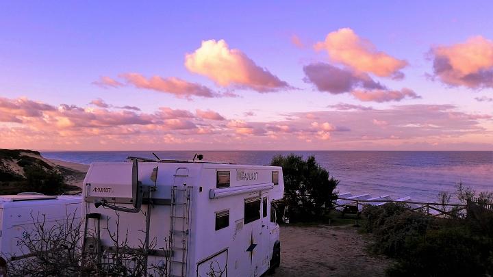 Sonnenaufgang am Atlantik