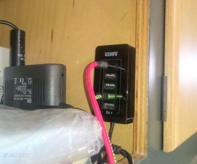 Power USB Ladestation 50Watt