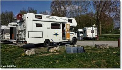 Faltmodul-mobile Solaranlage