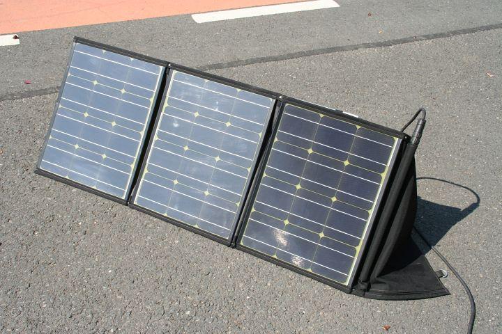 Faltmodul - Solarkoffer für Camping und Wohnmobil