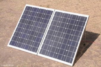 die ulimative mobile Solaranlage von AMUMOT