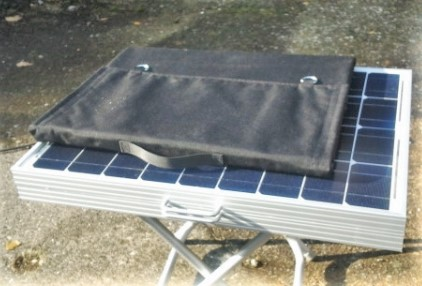 Solarkoffer vs falbares Solarmodul