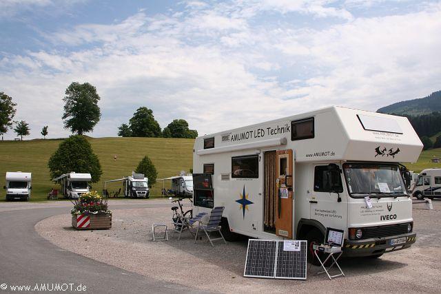 Reisebericht Stellplatz Nesselwang