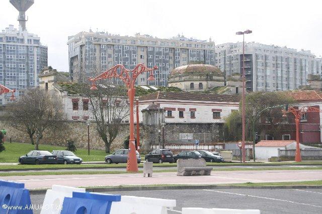 Alte Gebäude in La Caruna