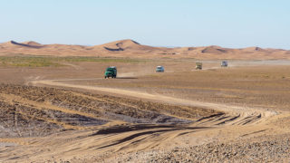 Marokko | Wir fahren 190km Erg Chegaga Piste von Mhamid nach Foum Zguid