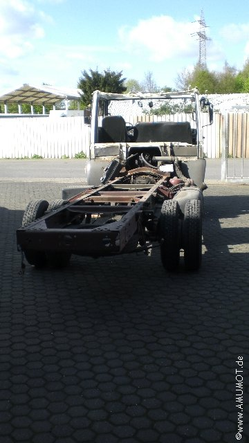 altes Wohnmobil Chassis