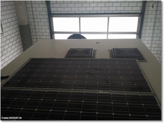 Solar auf wohnmobil