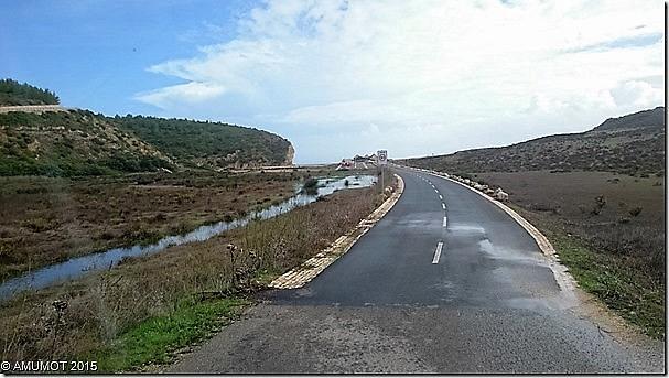 Zufahrt zur Boca do Rio