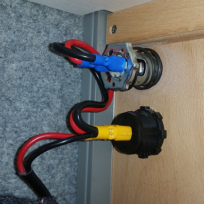 USB Steckdose an 12V anschließen