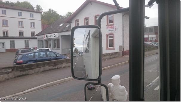 Verfolger im Spiegel