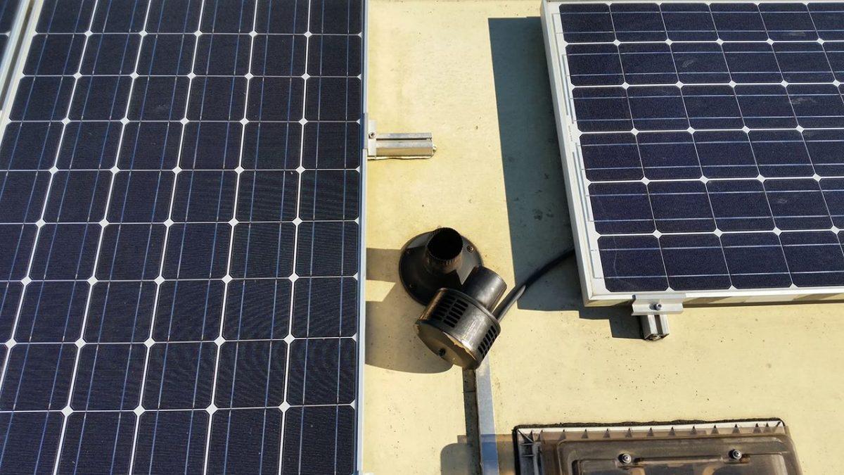 Solarleistung ohne Verschattung messen