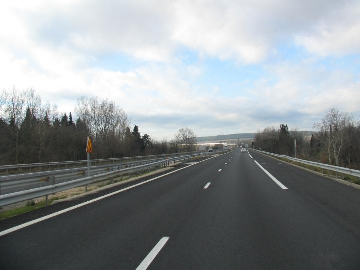 Auf der Autobahn - deutlich Stressfreier