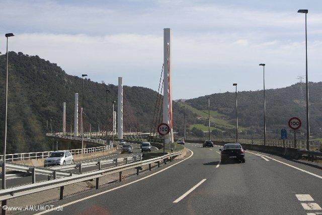 autobahn Baskenland - Spanien