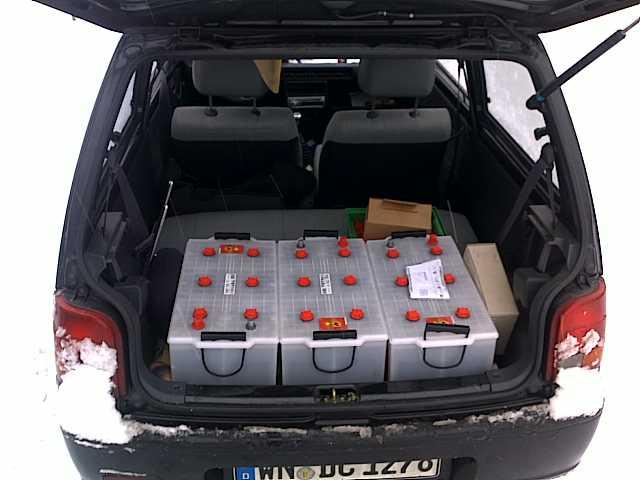 Batteriebank für Wohnmobil