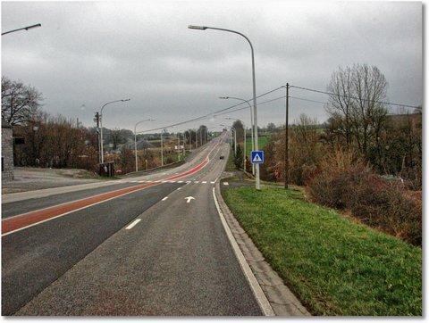 Straßenbeleuchtung belgien