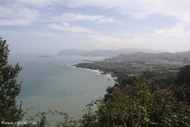 Schöne Küste in Baskenland - Spanien
