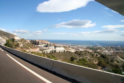 zugebaute Küste spanien