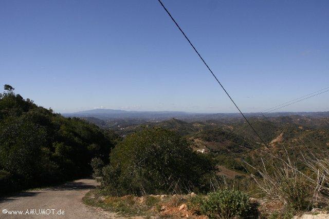 Algarve ausblick