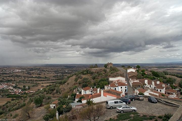 Ausblick vom Castelo de Monsaraz