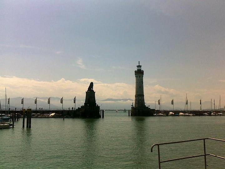 Lindau am Bodensee Hafen