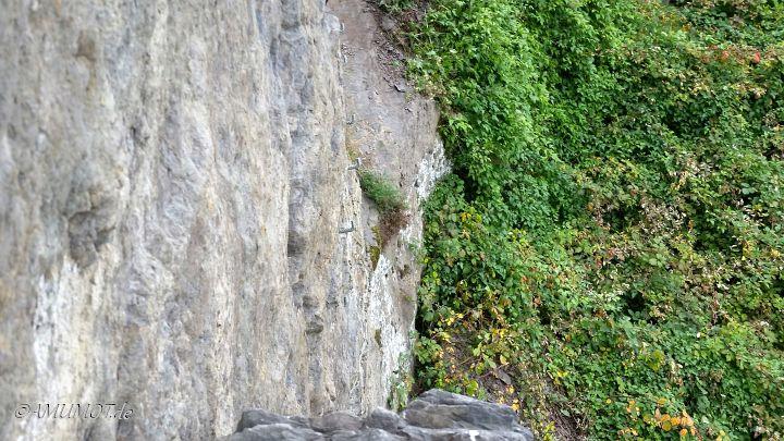 Felswand Klettersteig Boppard